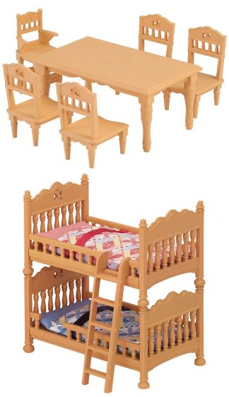 Dining Table, Double Bunk Bed