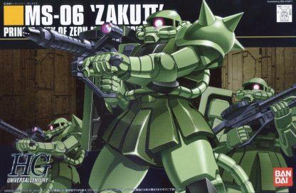 MS-06 Zaku II Green